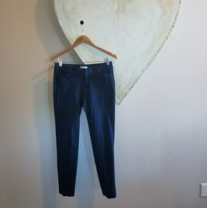 Navy pixie ankle pant